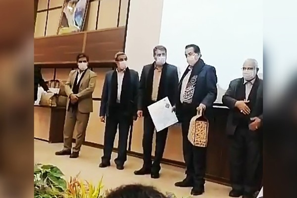 Celebration and Tribute of Well-known Benefactor of Damghan Mr. Abolfazl Kalaei