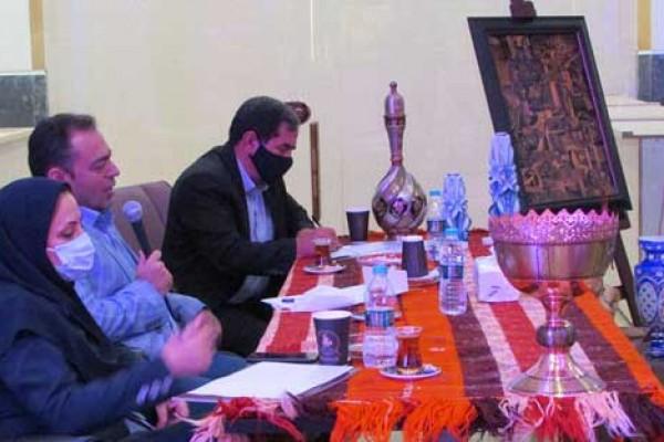 بازدید مدیر کل مراث فرهنگی استان تهران از سرای هنر مرکز تجارت جهانی فردوسی
